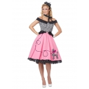 Costume Grease les roses année 50