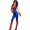 Costume combinaison sans manche spiderman
