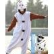 Déguisement combinaison pyjama Olaf reine des neiges