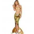 Costume la sirène dorée