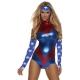 Costume captain america body