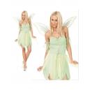 Costume la fée avec grandes ailes