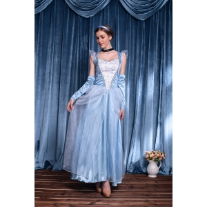 Costume Cendrillon robe longue