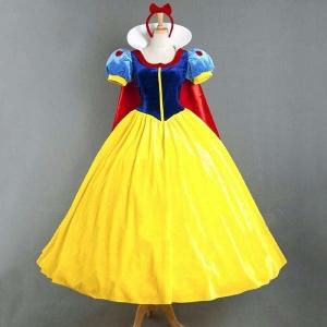 Costume Blanche neige robe avec cape