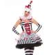 Costume harlequin le clown