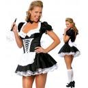 Costume la Soubrette femme de ménage - déguisement femme