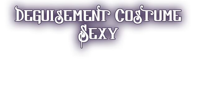 COSTUME DEGUISEMENT SEXY